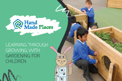 Learning through growing with gardening for children