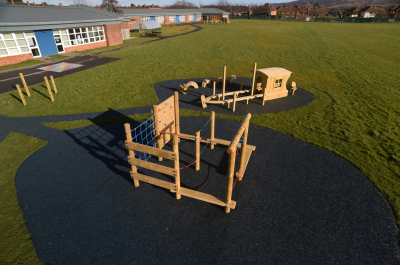Thorntree Primary School | Case Study | Playground Equipment | Hand Made Places
