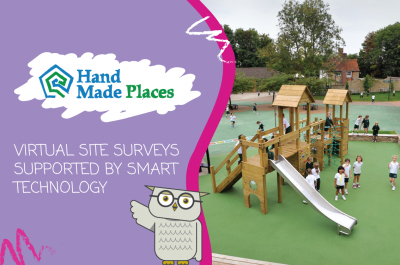 Virtual site surveys supported by smart technology at Hand Made Places