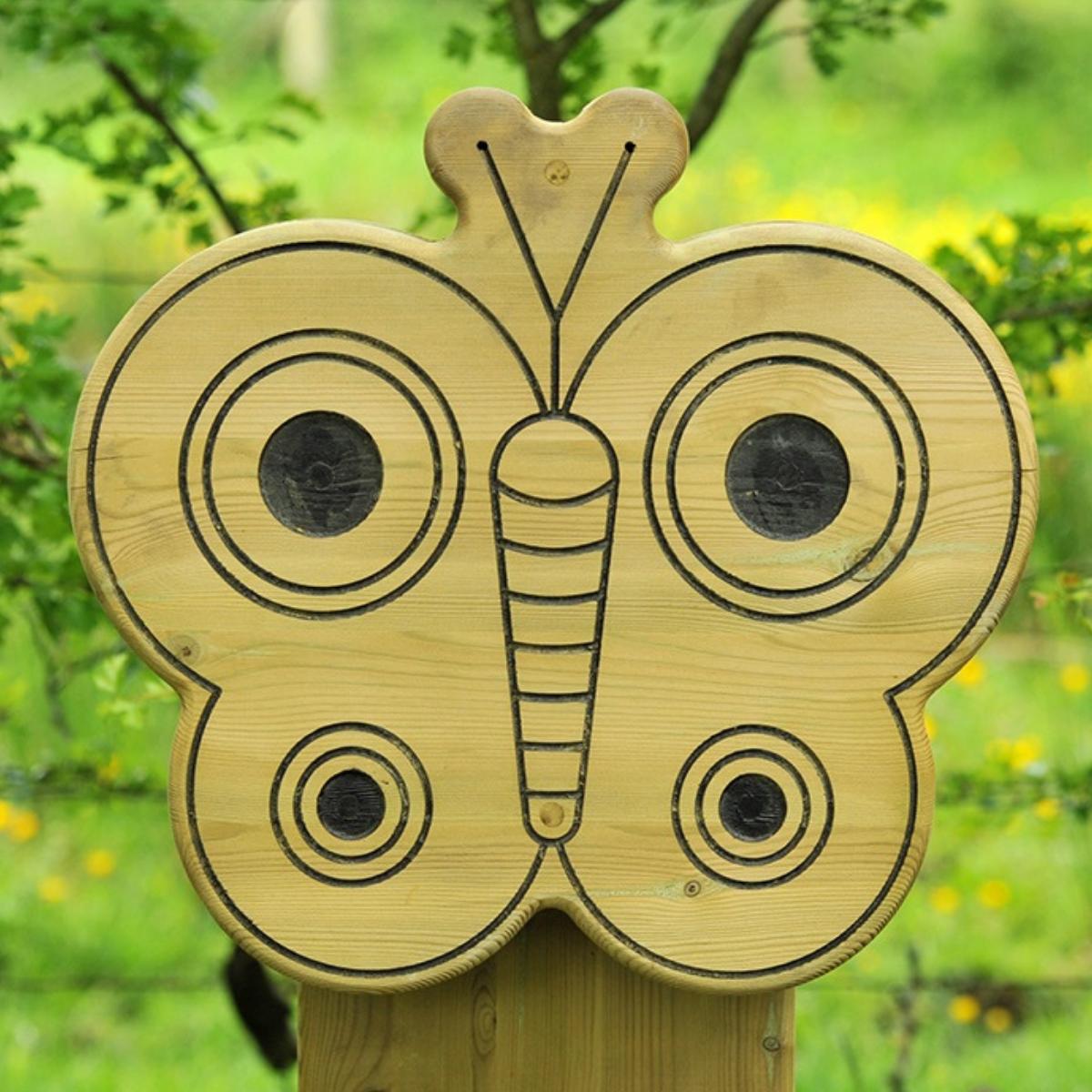 Butterfly Animal Face Totem