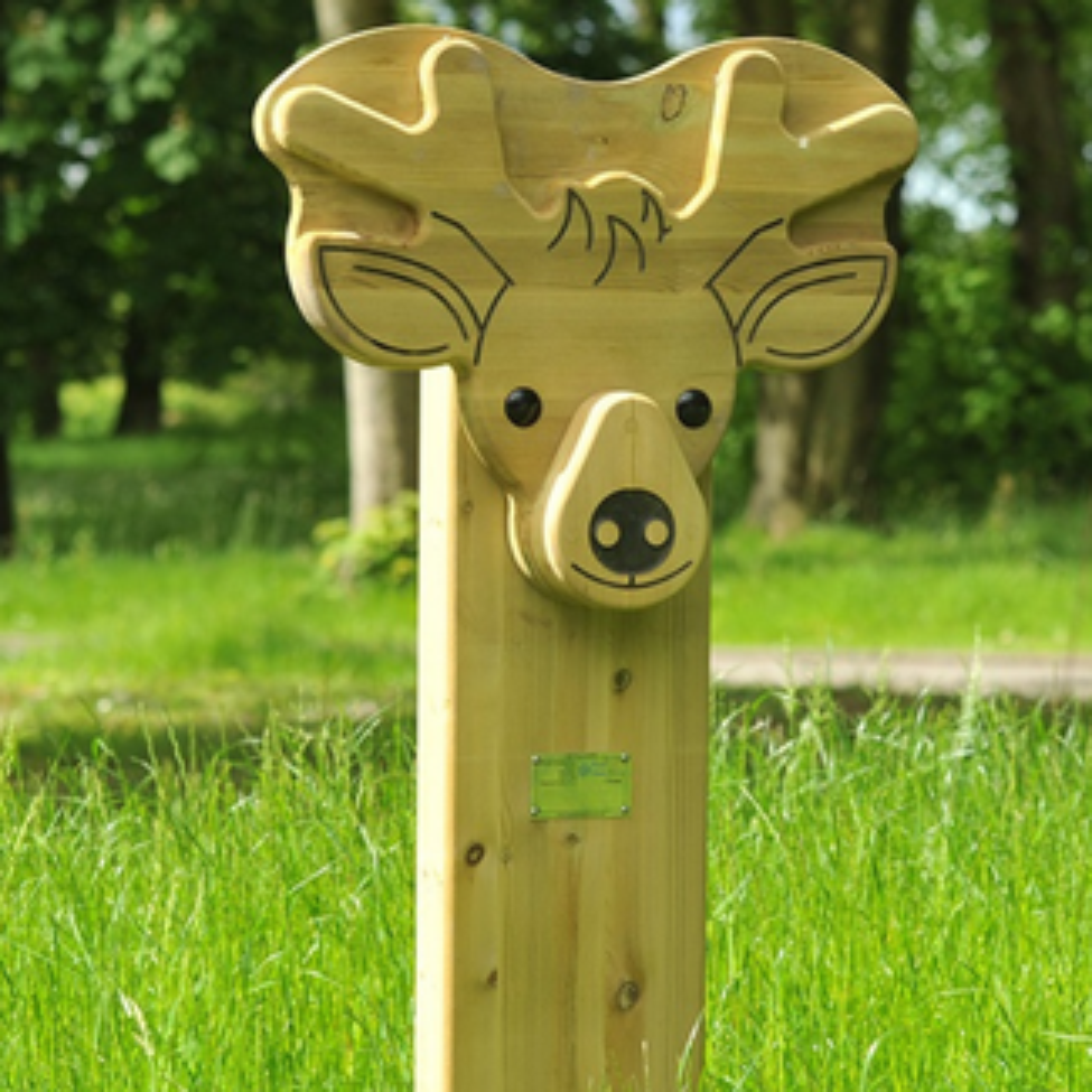 Deer Animal Face Totem