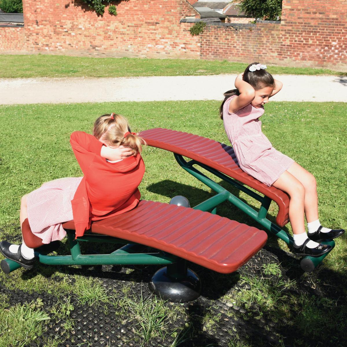 Double Sit Up Bench - Woodville Junior School