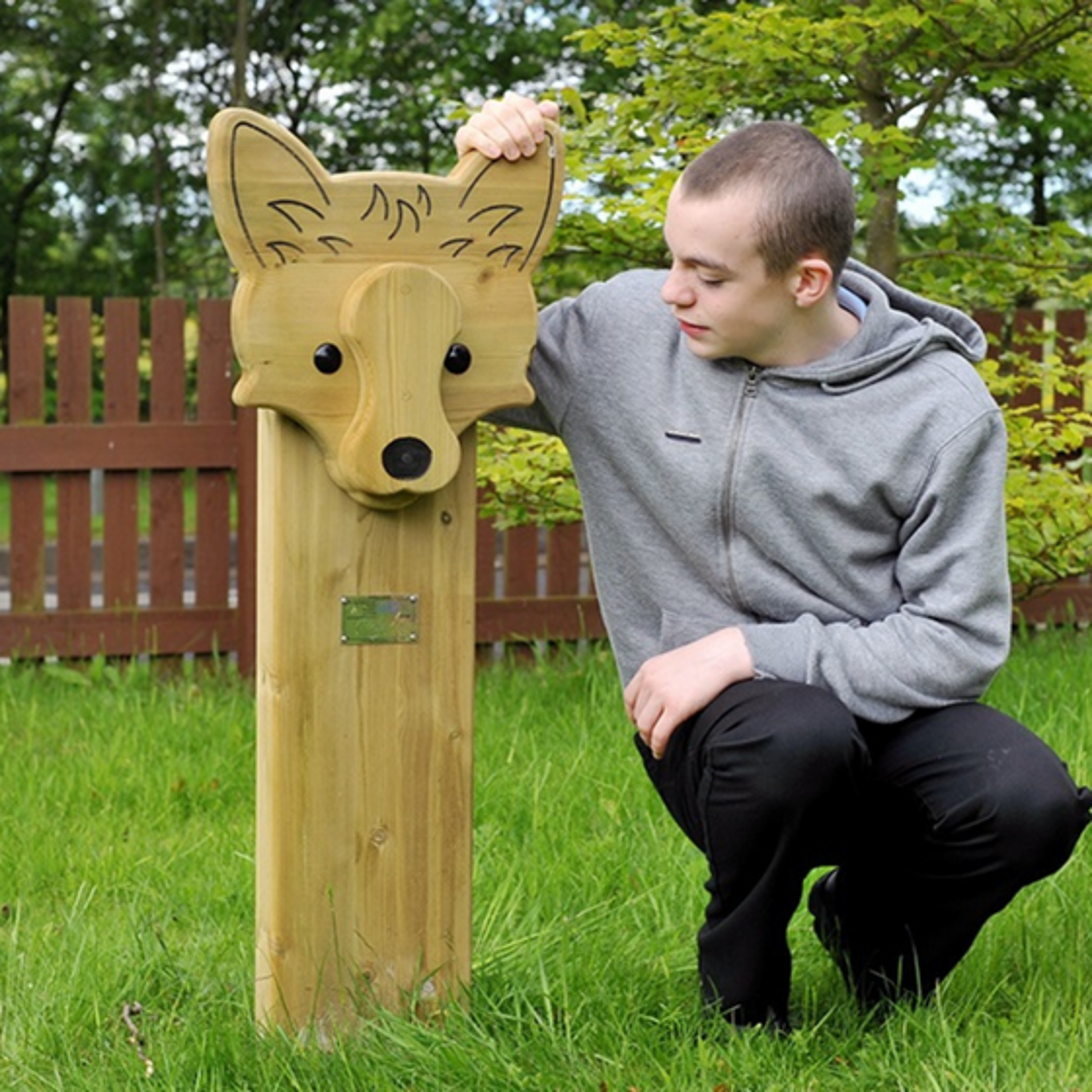 Fox Animal Face Totem
