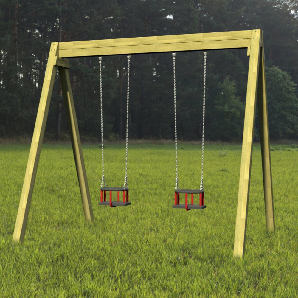 Double Cradle Swings