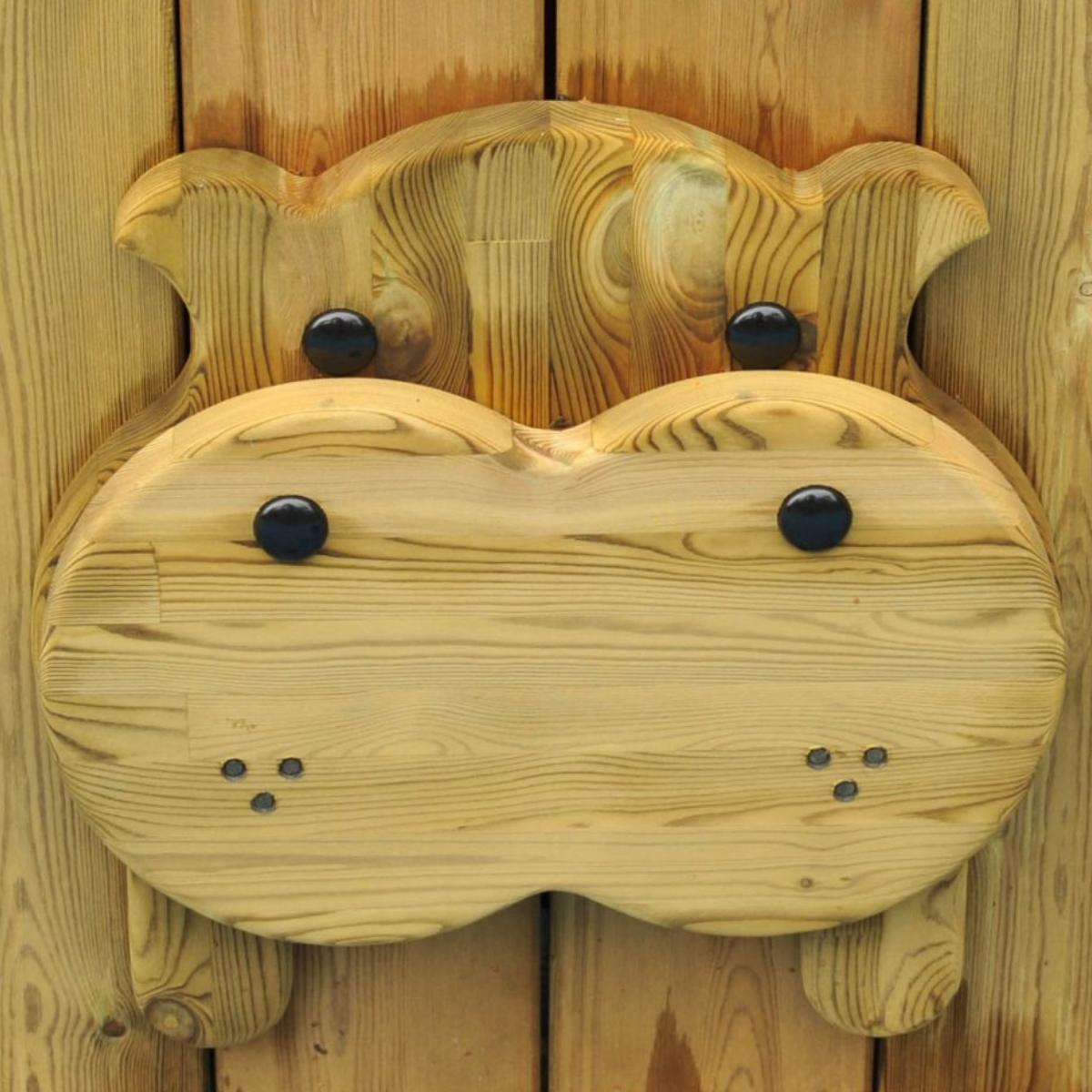 Hippo Animal Face