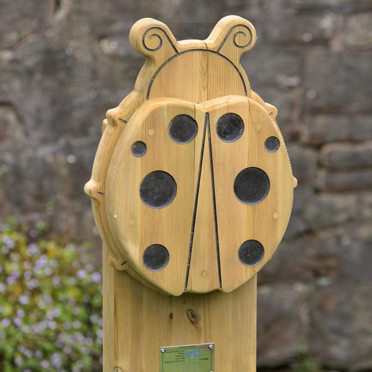 Ladybird Animal Face Totem