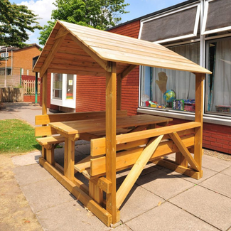 Roofed Table