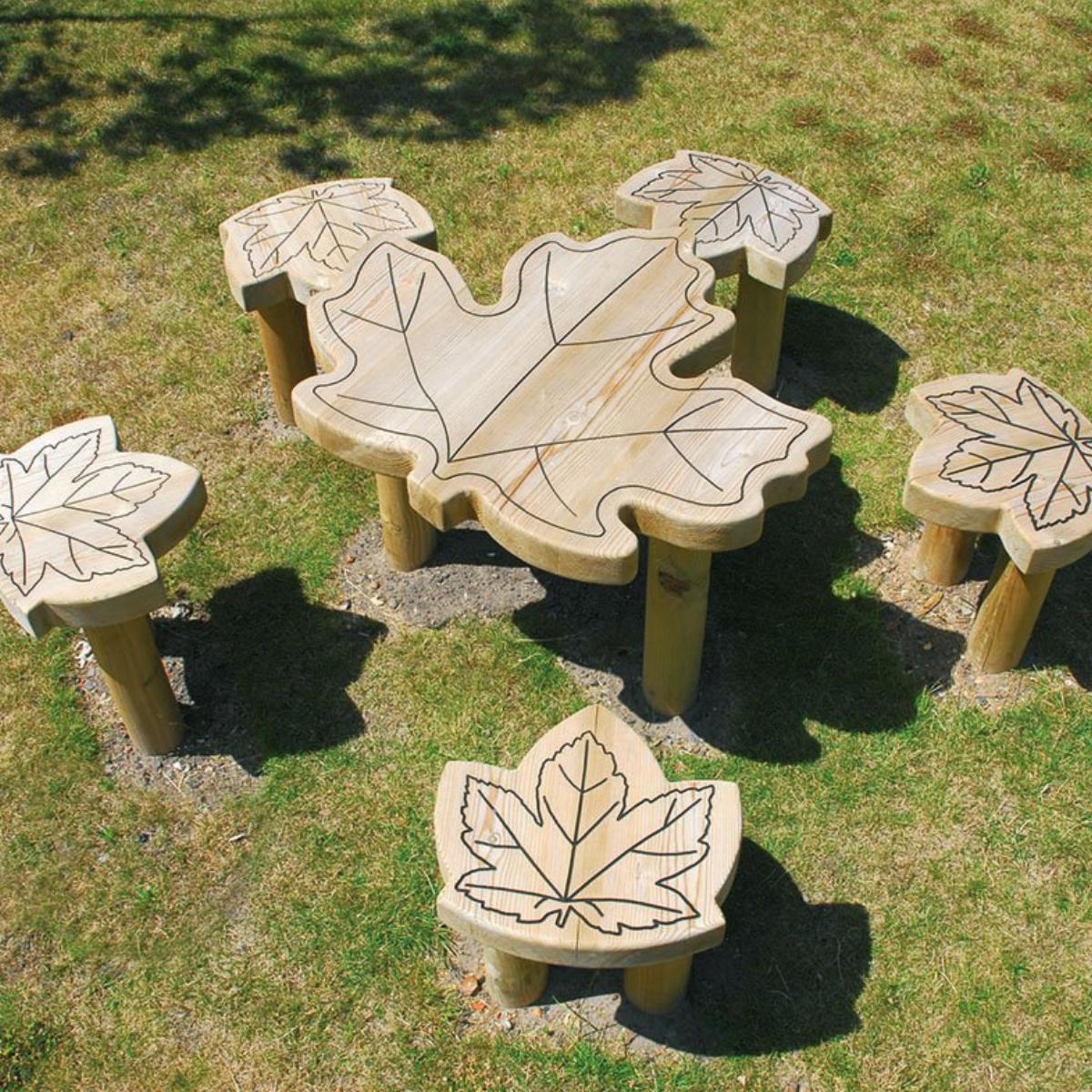 Maple Leaf Table