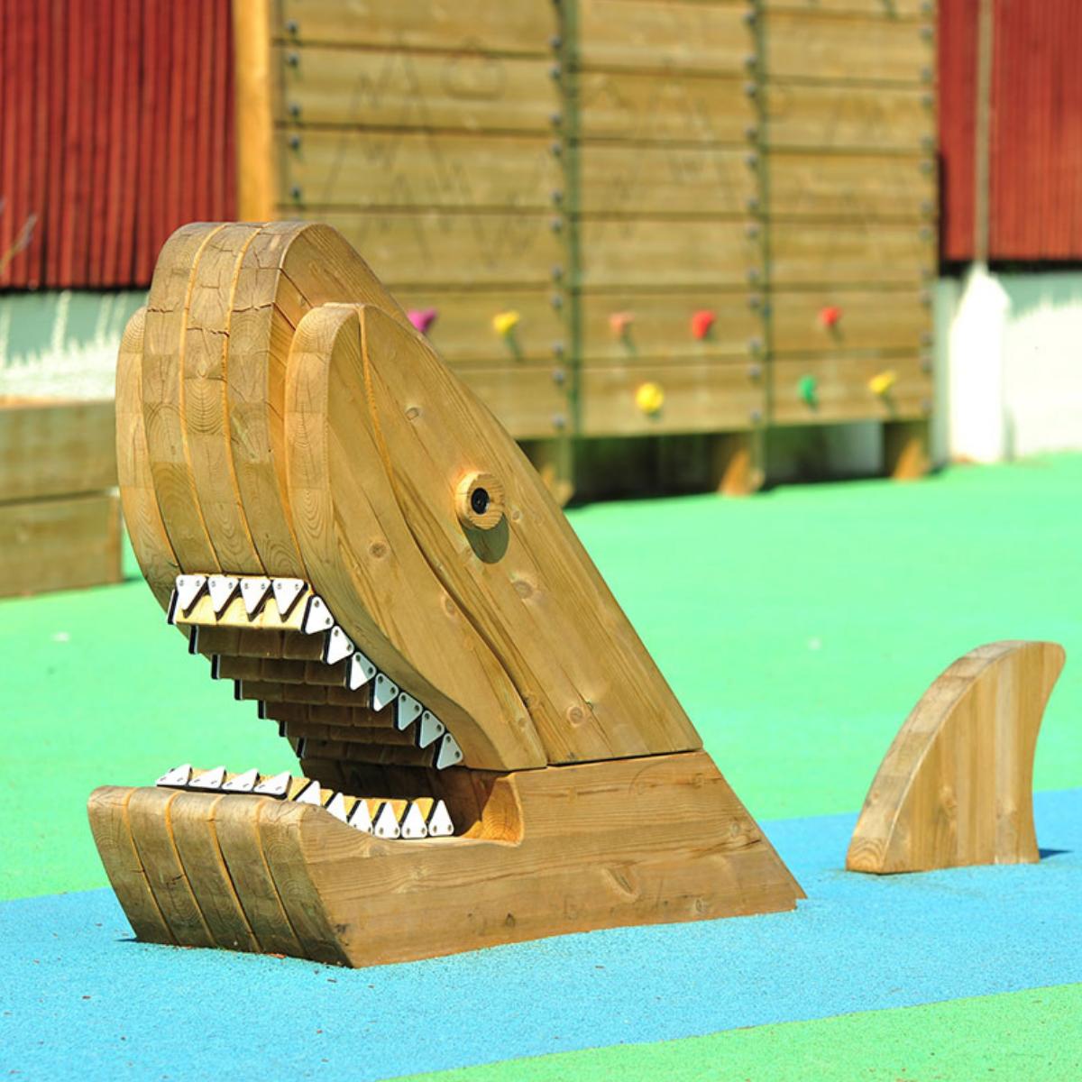 Shark Play Sculpture