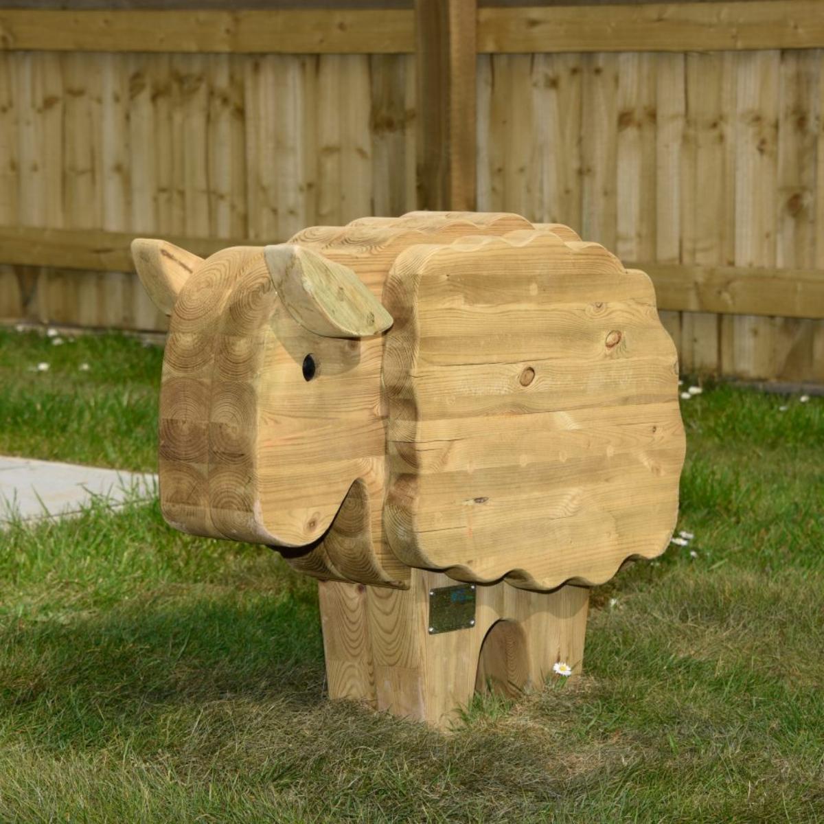 Sheep Play Sculpture
