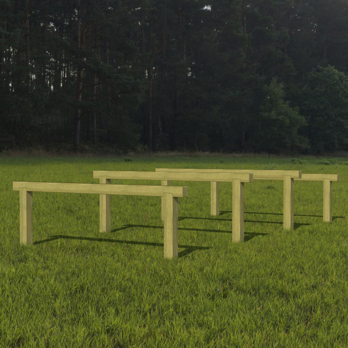 Hurdles - Set of 4